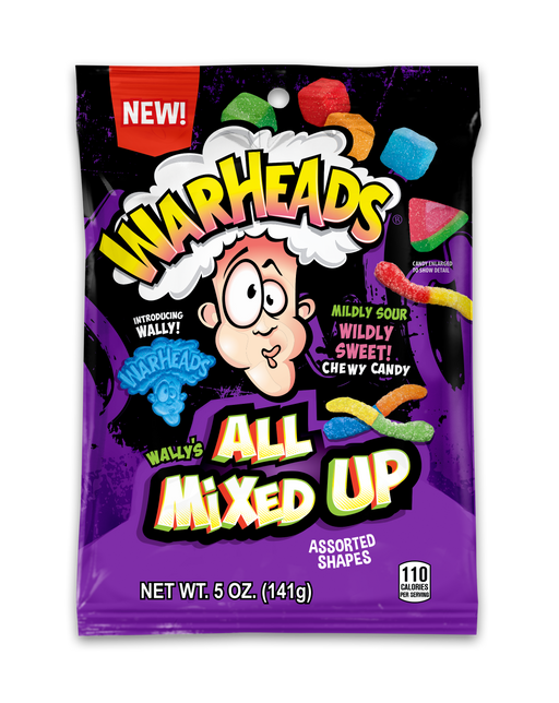 Warheads Chewy Sour All Mixed Up assortment