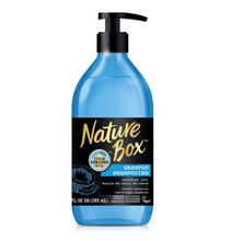 Load image into Gallery viewer, Nature Box Shampoo - for Instant Hydration, with 100% Cold Pressed Coconut Oil, 13 Ounce