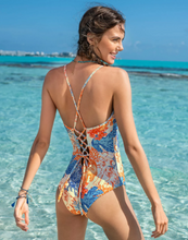 Load image into Gallery viewer, Environmentally Friendly One Piece Slimming Swimsuit