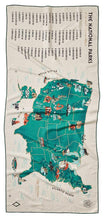 Load image into Gallery viewer, 59 Parks: Us Map Towel (the Go-Anywhere, Multi-Purpose Towel)