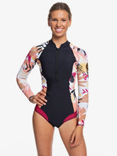 Load image into Gallery viewer, 1mm POP Surf Long Sleeve Front Zip Bikini Cut Shorty