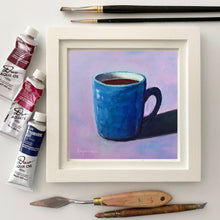 "Load image into Gallery viewer, ""My Cup is Full"" 6x6 original painting"