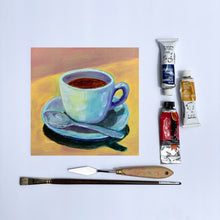 "Load image into Gallery viewer, ""Morning Cup"" fine art print"