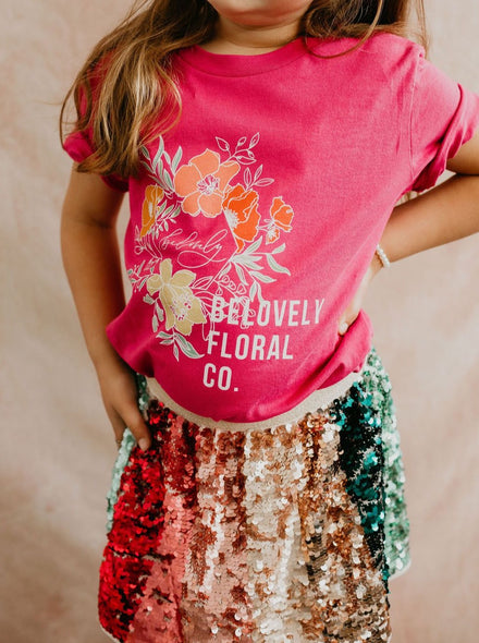 Belovely Logo Kids Tee
