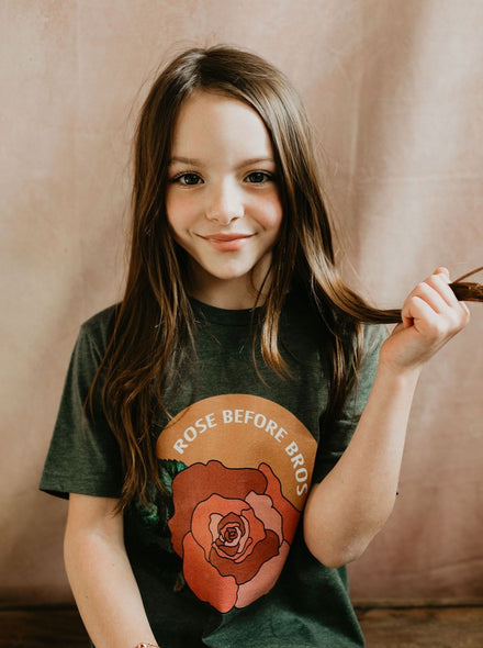 Kids Rose before Bros Tee