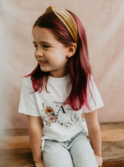 Toddler A Bouquet Tee
