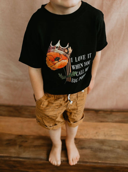 Toddler Big Poppy Tee