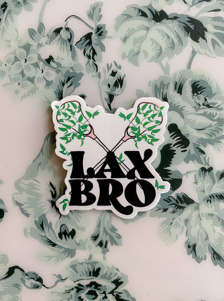 Lax Bro Sticker