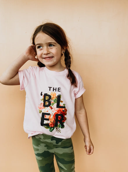 Flower 'Bler (Ambler) Toddler Tee