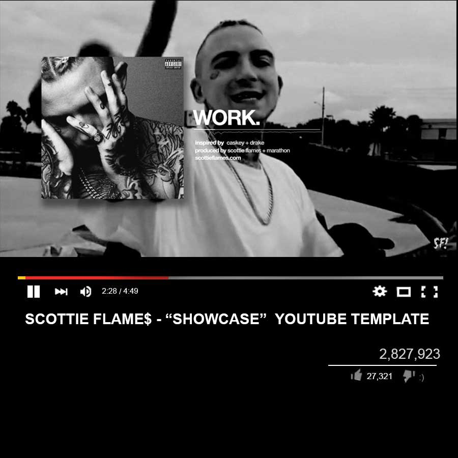 Showcase - YouTube Template | By Scottie Flame$!