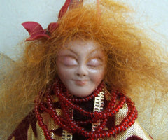 Christmas Ornament Art Doll Fantasy Fairy Angel Doll Collectible