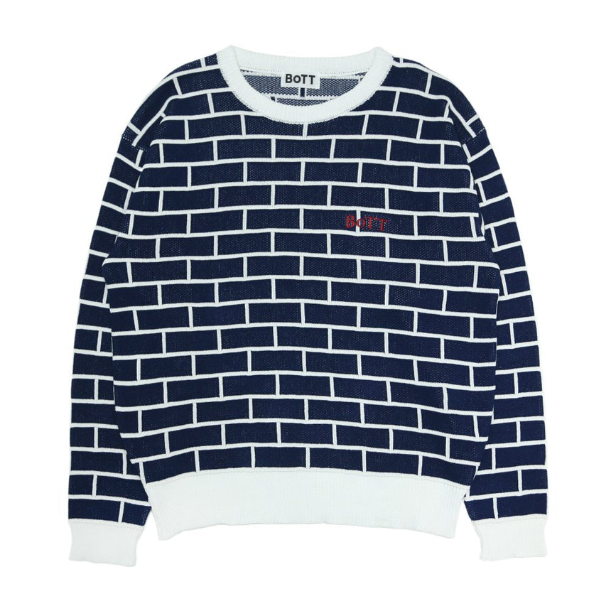 BoTT Brick Knit Sweater (Navy)