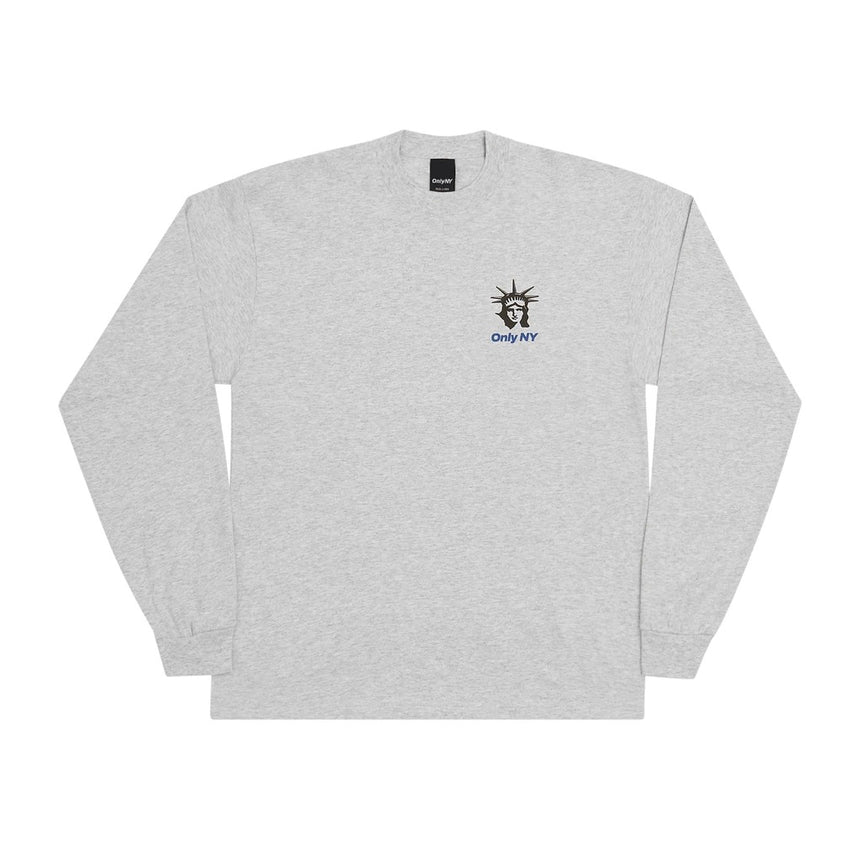 Only NY Seaport L/S T-Shirt (Ash)
