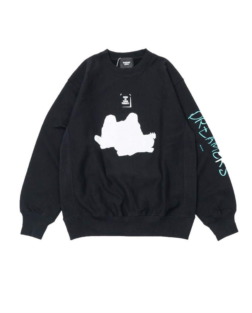 TODAY edition THE DREAMERS SWEAT (Black)