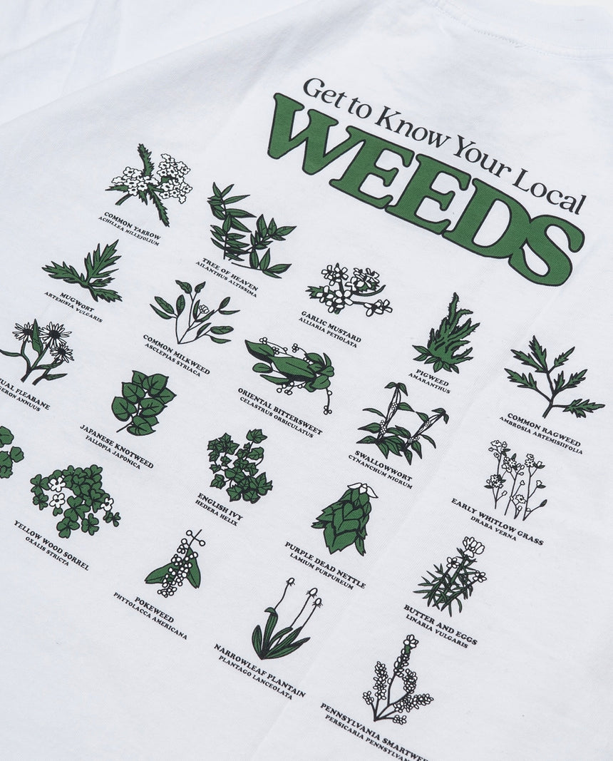 Only NY Local Weeds TEE (White)
