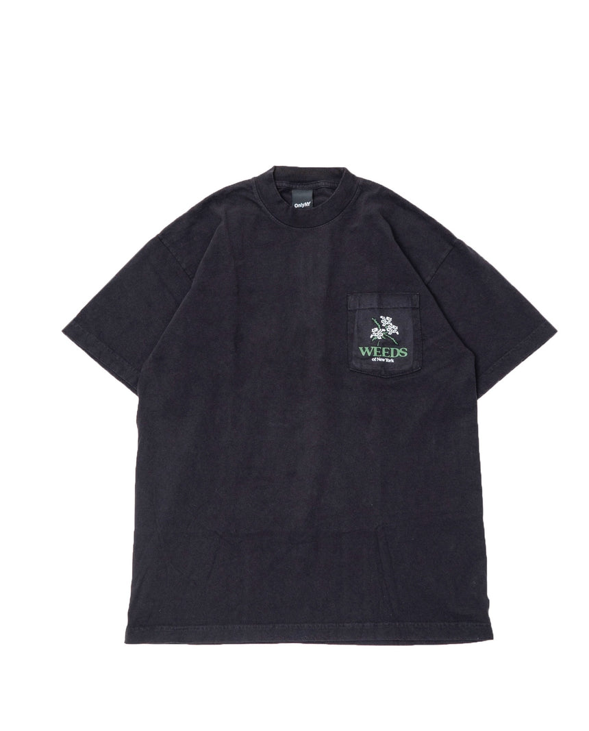 Only NY Local Weeds TEE (Black)