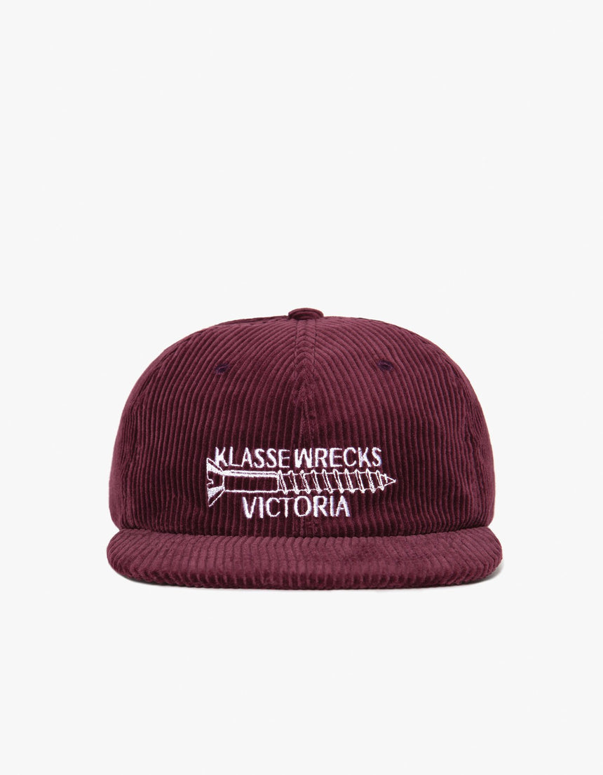 Victoria × Klasse Wrecks SCREW CAP (Burgundy)