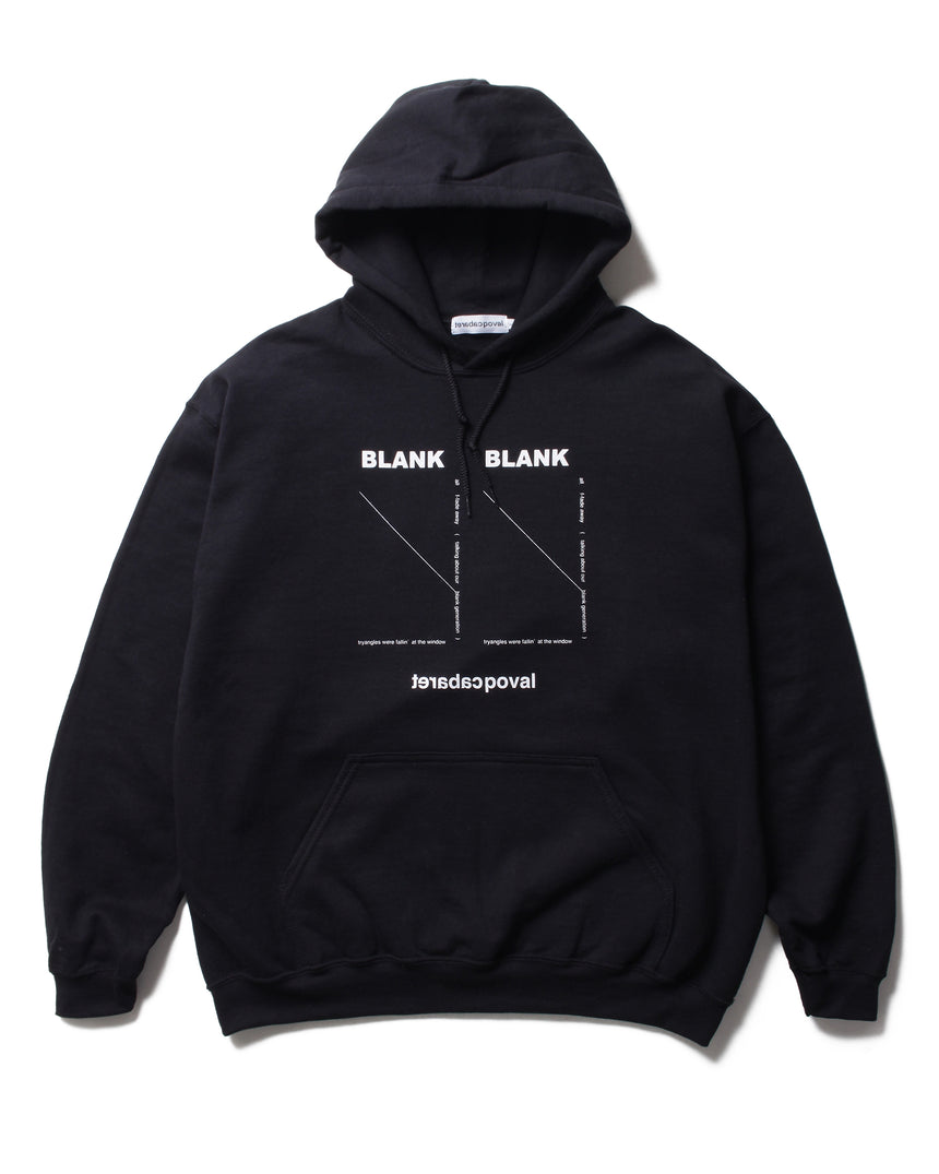 CABARET POVAL Blank Hooded Sweatshirt (Black)