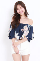 2way Navy Floral Offsie