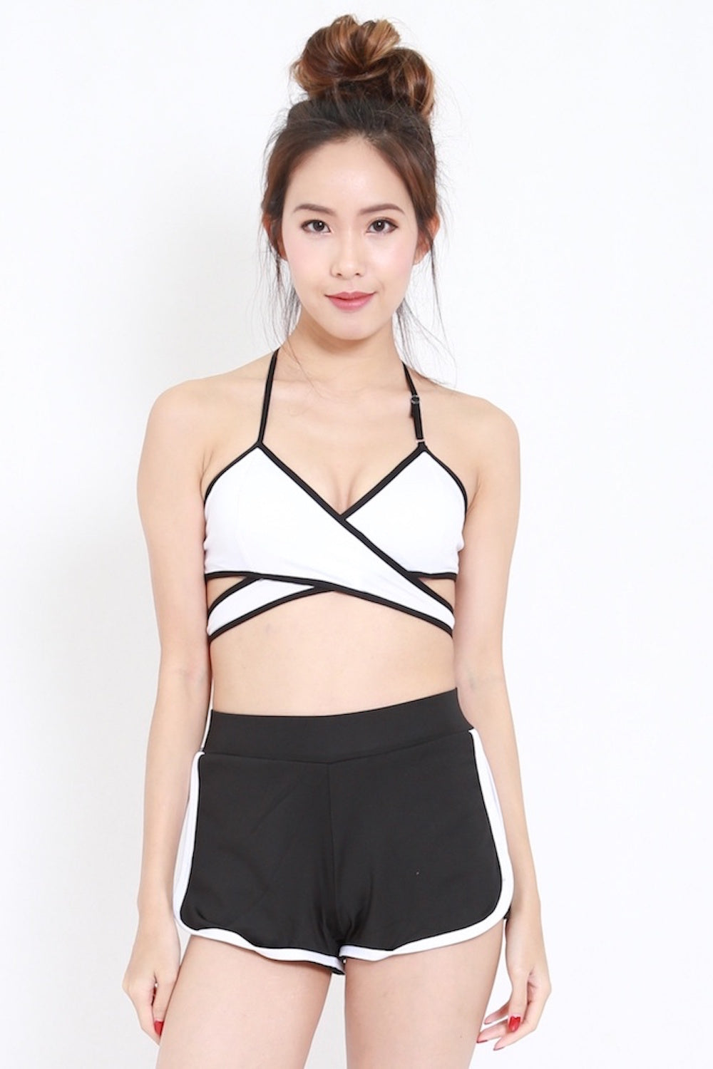 2way Wrap Bra (White)