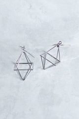 Acia Geometric Earrings (Silver)