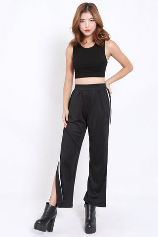Outline Slit Jogger Pants