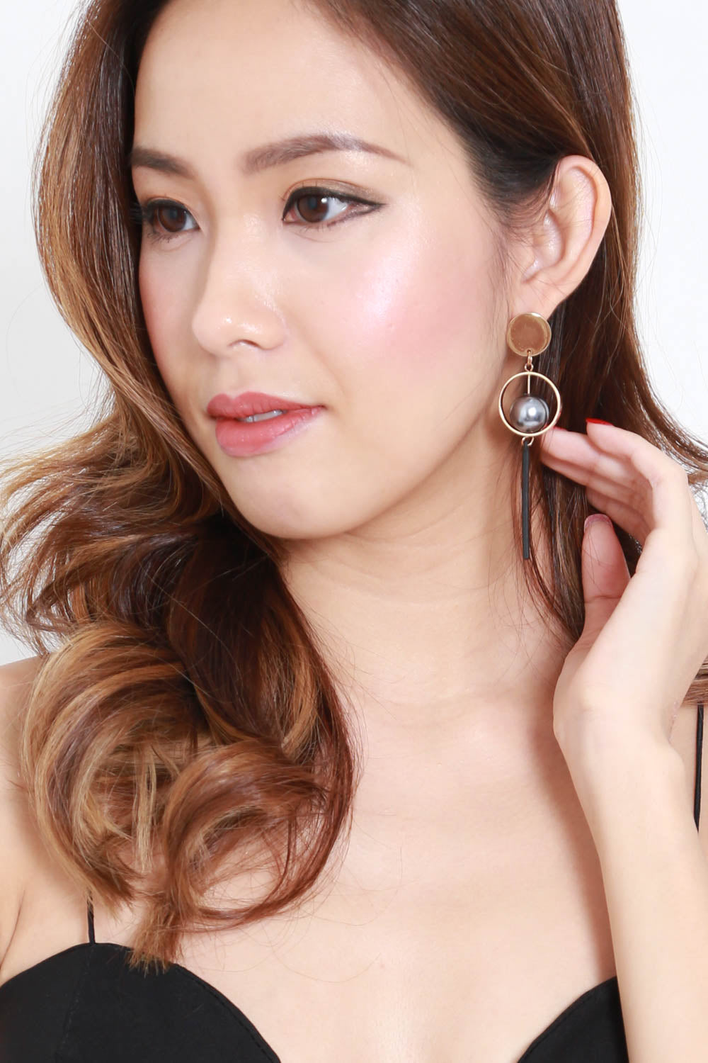 Beverly Metal Ball Earring