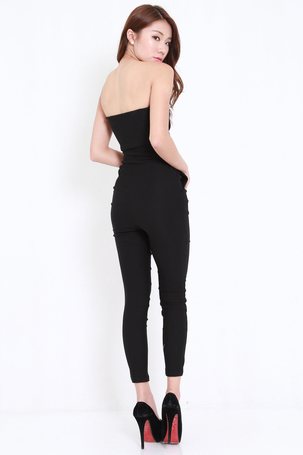 Black Pocket Jumpsuit