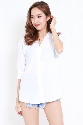 Boyfriend White Shirt