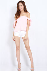 Candice Ribbon Top (Pink) -  - 2