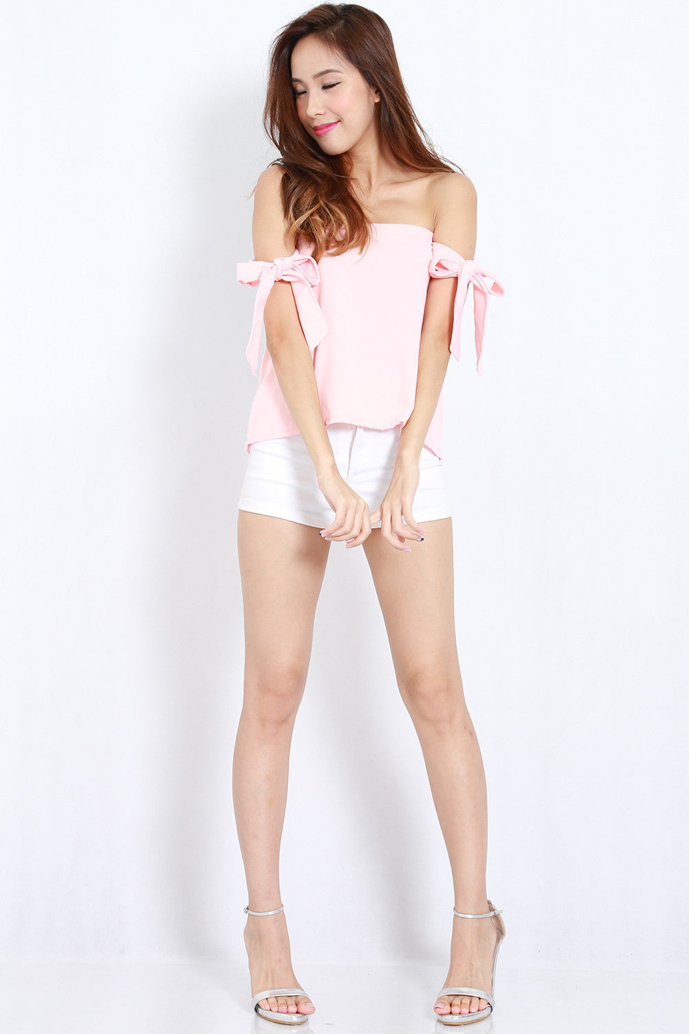 Candice Ribbon Top (Pink) -  - 4