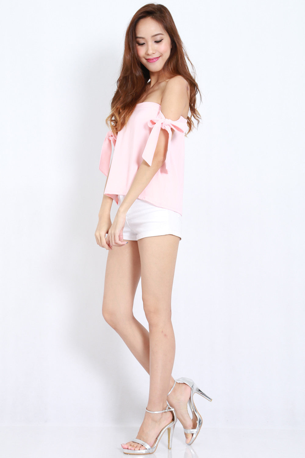 Candice Ribbon Top (Pink) -  - 5