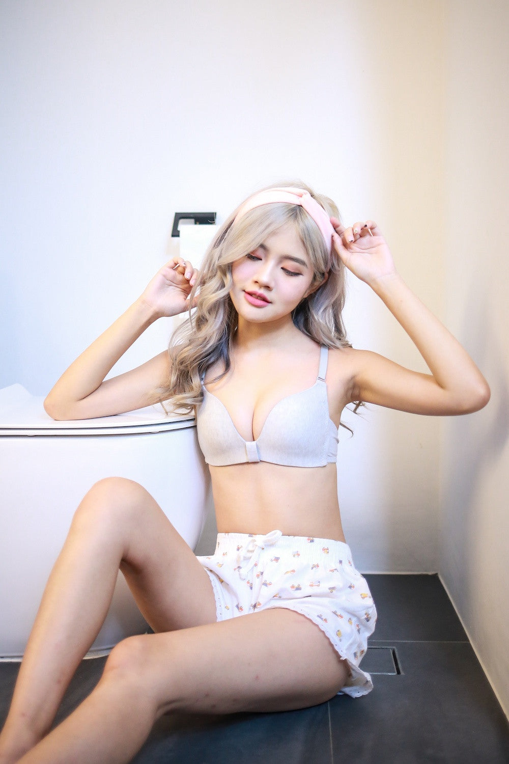 Candy Wireless Bra (Grey)