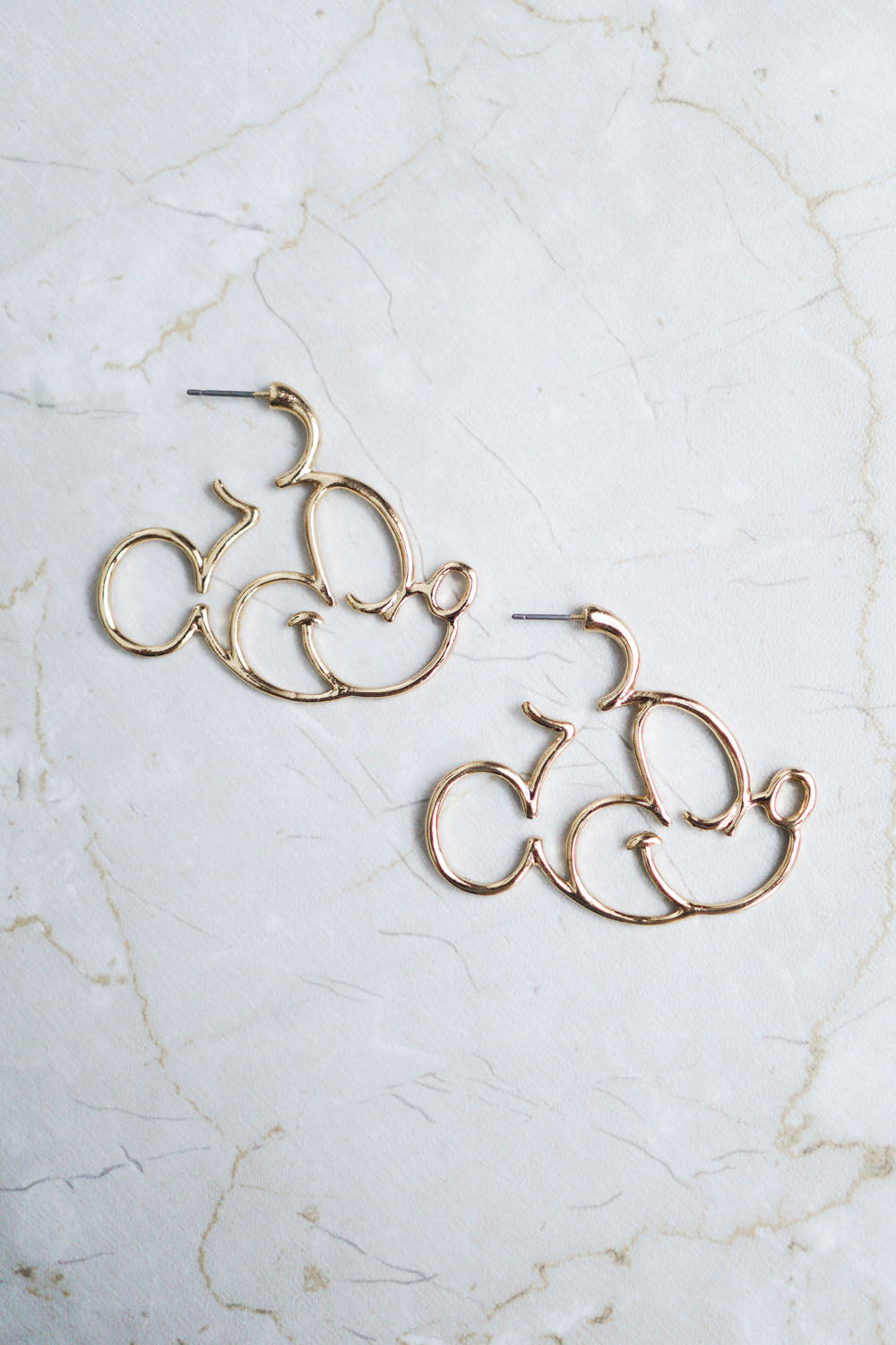 Cara Mickey Earring (Gold)