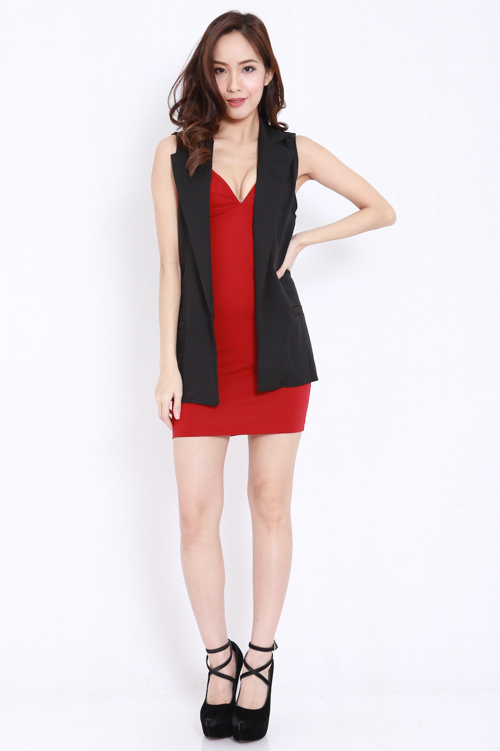 Casual Vest (Black)