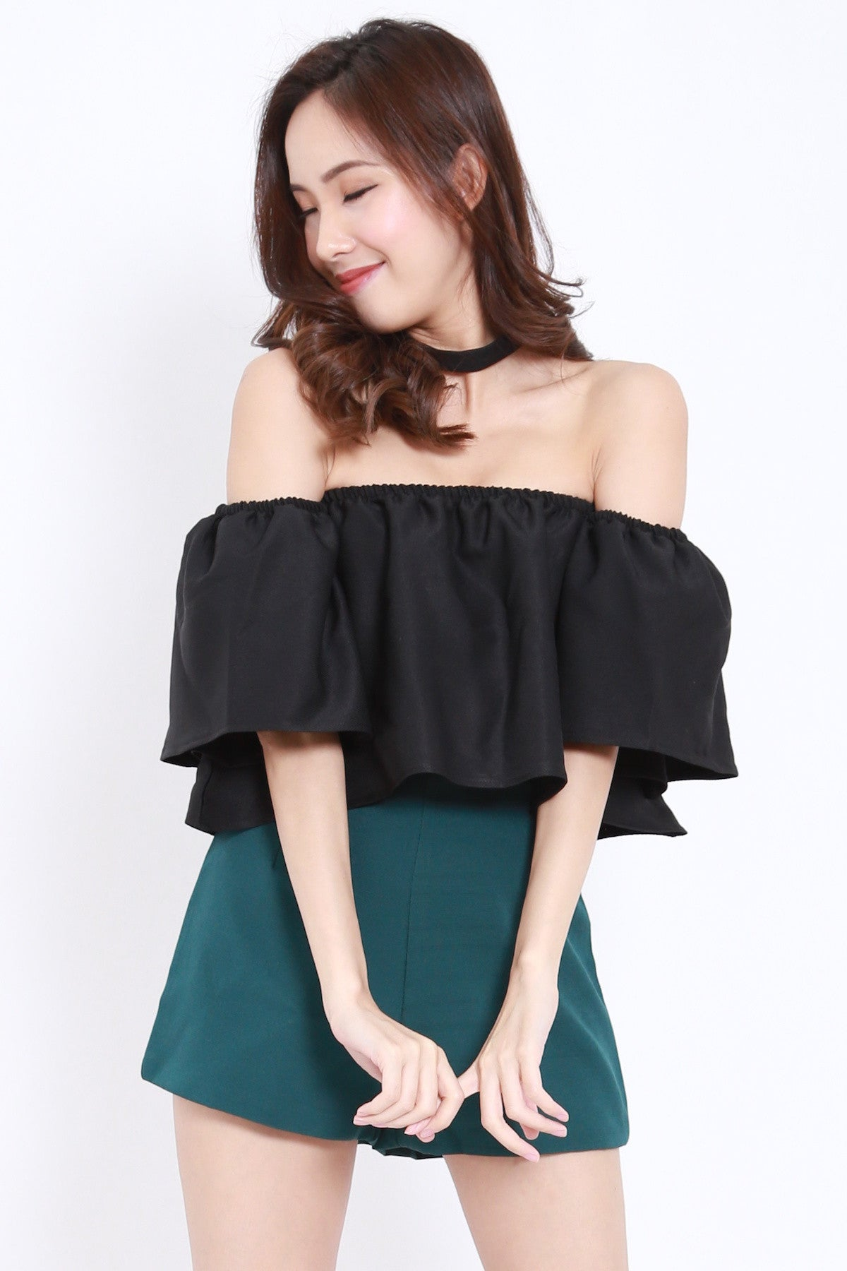 Bell Sleeve Offsie (Black)