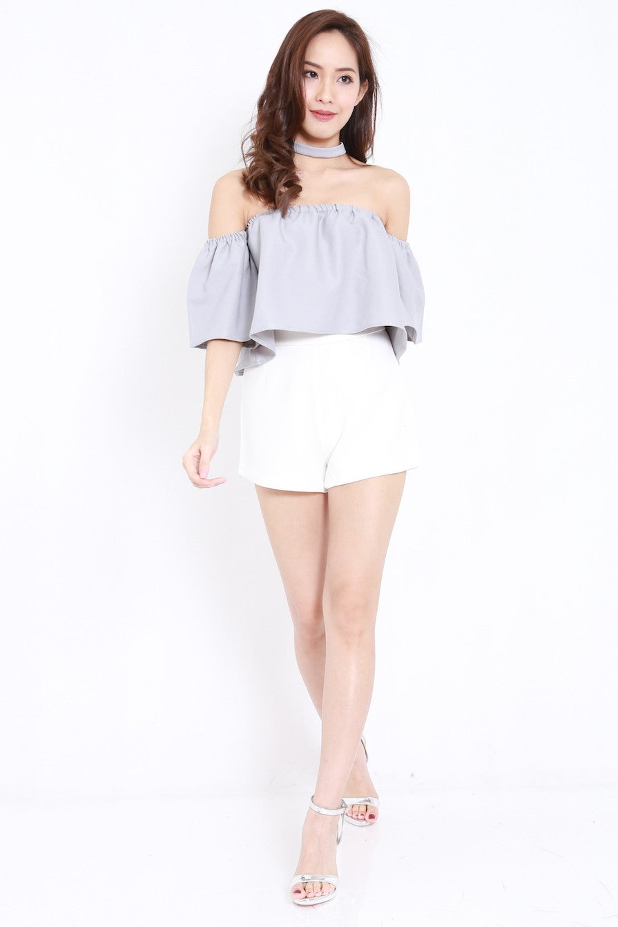 Bell Sleeve Offsie (Grey)