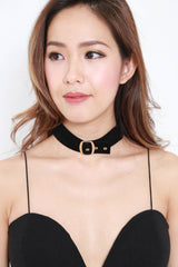 Choker Buckle Necklace