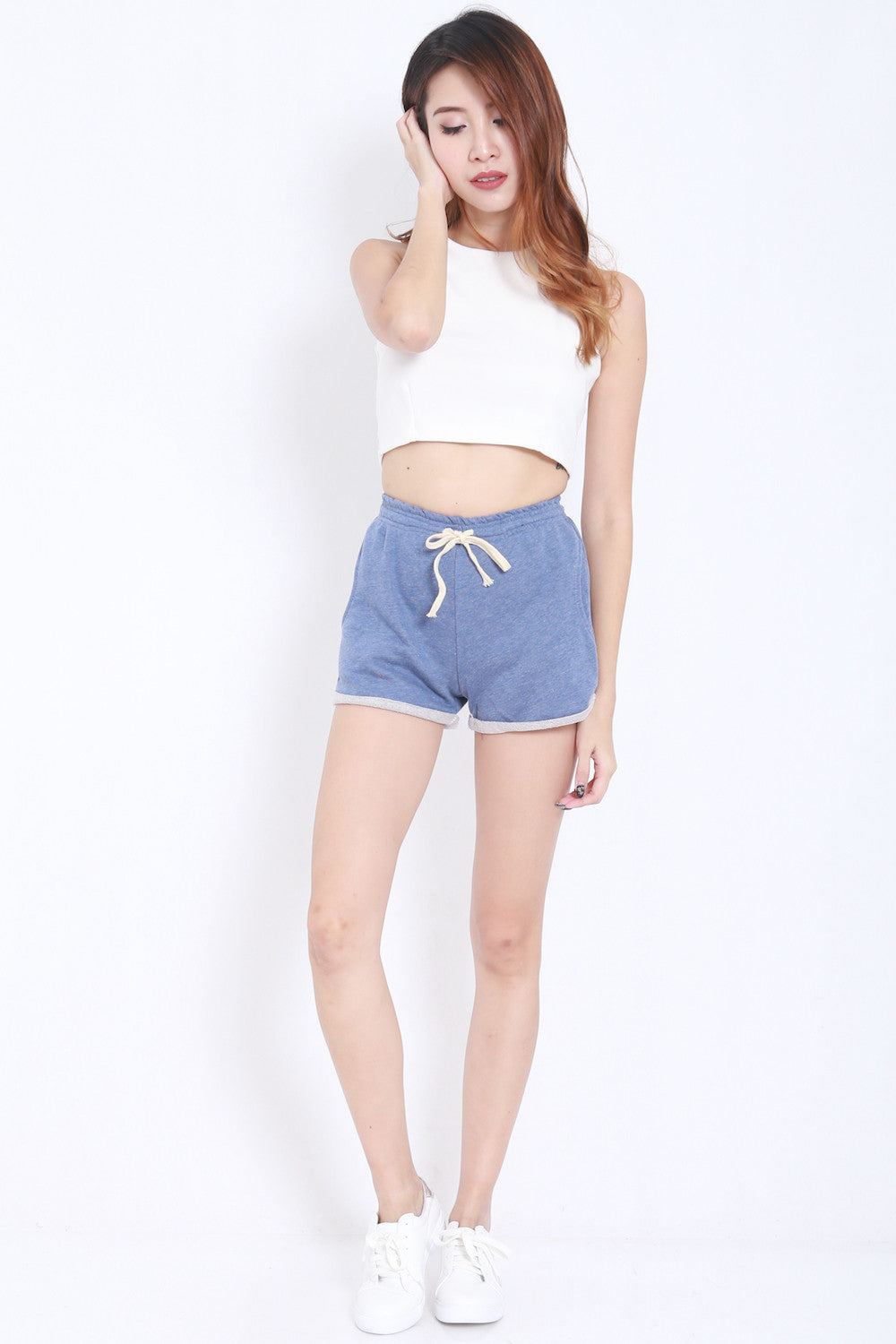 Comfy Pocket Shorts (Blue) -  - 3