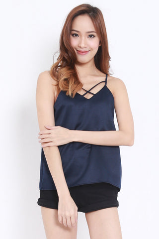 Cross Front Spag (Navy) -  - 1