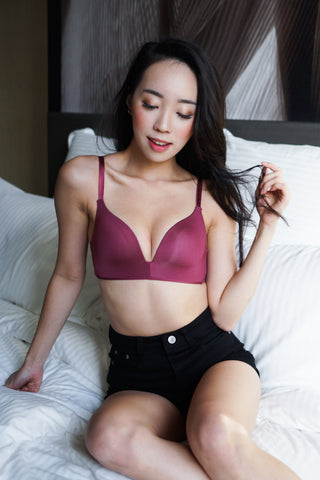 Basic Wireless T-Shirt Bra (Rose)