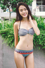 Stripes Tribal Bikini -  - 1