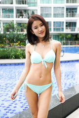 Basic Ribbon Bikini (Mint)