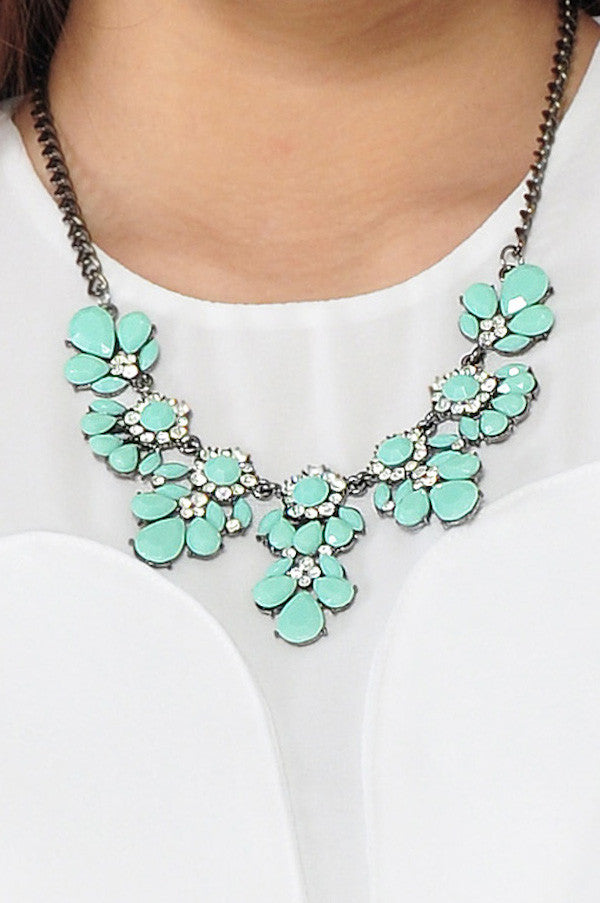 Petal Necklace (Mint) -  - 3