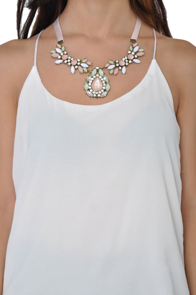 Satin Krelia Necklace -  - 2