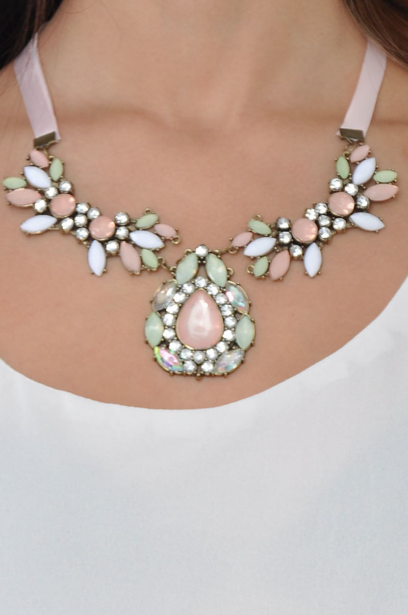 Satin Krelia Necklace -  - 3