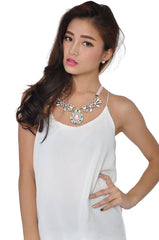 Satin Krelia Necklace -  - 4