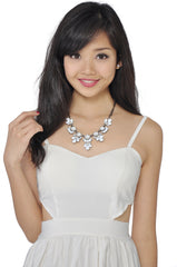 Petal Necklace (White) -  - 1