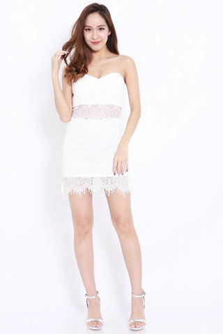 Eyelash Lace 2pcs Set (White)