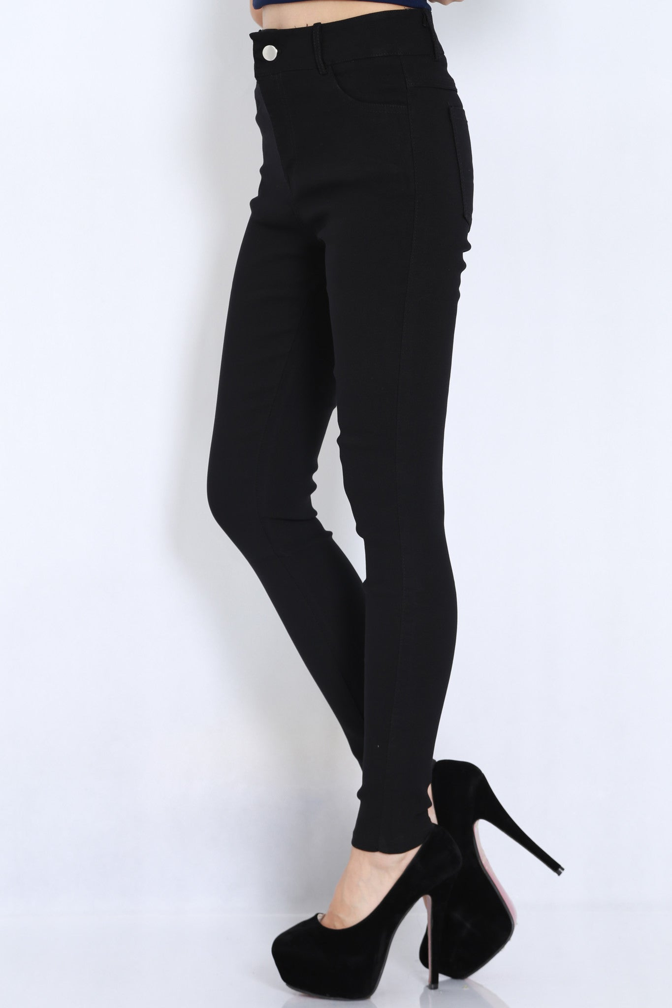 Fitting Jeans (Black) -  - 3